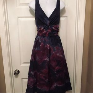 NWT Neiman Marcus LelaRose 12 Hi-Lo Party Dress
